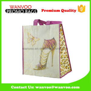 PP Non Woven Woman Tote Bag with Long Handles pictures & photos
