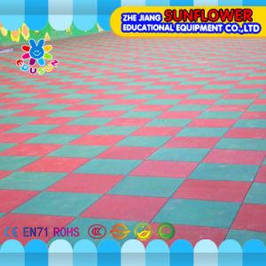 Playground Flooring Safety Mats Kindergarten Basketball Court Rubber Floor Mat (XYH-13140-3) pictures & photos