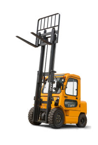 3.5ton Diesel Forklift with Cab/China Forklift Manufacturor pictures & photos