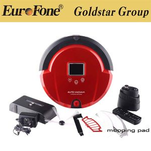 Auto Charging Robotic Vacuum Cleaner with Rechargeable Lithium Battery pictures & photos