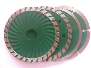 Diamond Saw Blade for Cutting Granite, Cold-Pressed Segmented Saw Blade with Flange pictures & photos