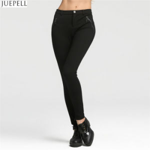 Autumn Models Women Leggings Sexy Thin Black Stretch Pencil Pants Trousers pictures & photos