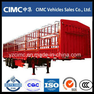 Cimc 3 Axle Fence Trailer Cargo Trailer pictures & photos