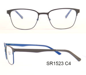 Double Color New Design Metal Optical Frames Eyewear pictures & photos