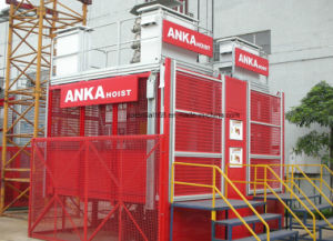 Builder Elevator with Rack and Pinion pictures & photos