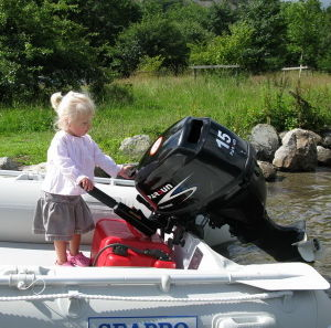 4 Stroke 15HP Boat Engine / Remote Control / Electric Start / Long Shaft pictures & photos