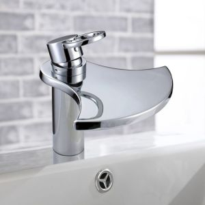 Waterfall Bathroom Basin Faucet pictures & photos