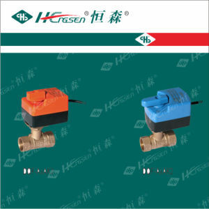 Brass Motorized Ball Valve with Actuator/Motorized Ball Valve pictures & photos