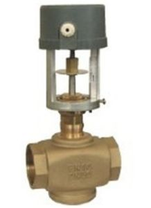 Solenoid Brass Ball Valve Two Ways Motorized Control Valves pictures & photos
