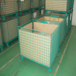 Flexible Folding Storage Wire Mesh Container pictures & photos