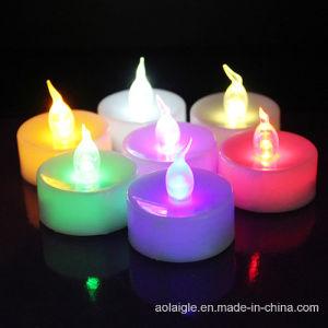 LED Battery Power Flameless Tealight Birthday Candles