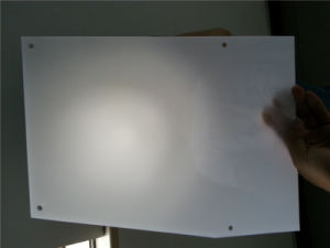 Flame Resistant Troffer Polycarbonate Panel pictures & photos