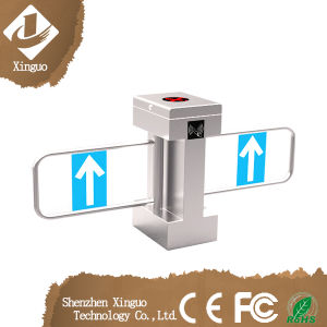 Subway Waist High Turnstile RFID Controlled Swing Barrier pictures & photos