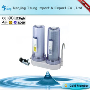 Counter Top Two Stage Water Purifier with Metal Connector pictures & photos