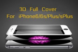Tempered Glass Screen Protector for iPhone6 /iPhone6s 3D Full Cover pictures & photos