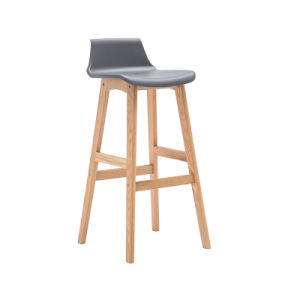 Hotel Club PP High Bar Chair with Wooden Legs (FS-PB005V) pictures & photos