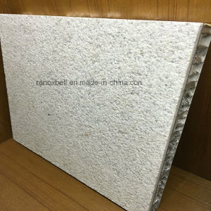 Real Stone Paint Aluminum Honeycomb Panel for Exterior Building Decoration pictures & photos