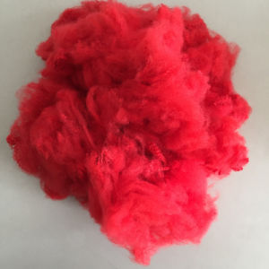 Regenerated Colored Polyester Staple Fiber PSF (3dx76mm) pictures & photos