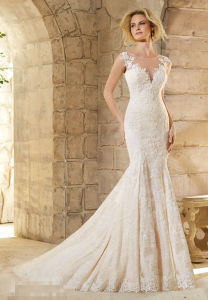2015 Lace Beaded Mermaid Bridal Wedding Gowns 2778 pictures & photos