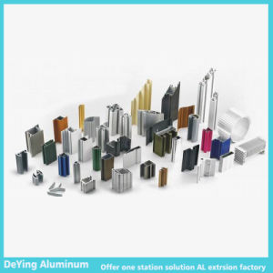 Deying Aluminum Profile with Different Shapes Excellent Surface Treatment pictures & photos
