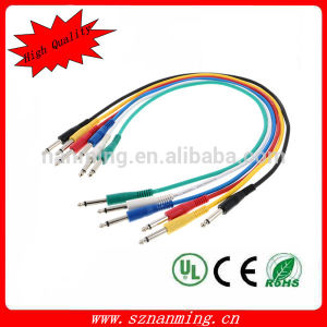 "1/4"" Inch Ts Male 20AWG Instrument Cable pictures & photos"