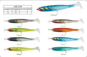 Top Quality Soft Fishing Bait pictures & photos