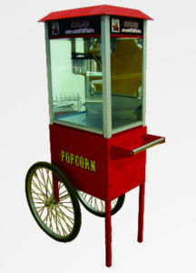 Popcorn Machine with Cart HM-PC-8B pictures & photos