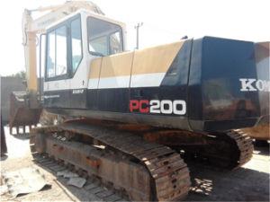 Used Komatsu PC200 (20 t) Crawler Excavator for Construction