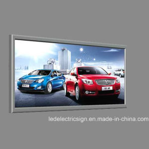 Wall Mounted Snap Frame Picture Light LED Light Box with Advertising Signboard pictures & photos