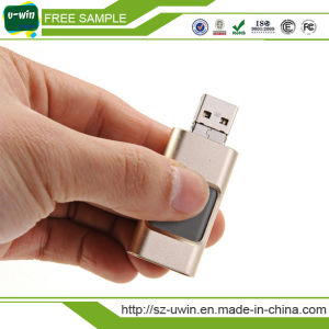 3 in 1 OTG USB Flash Drive for iPhone pictures & photos