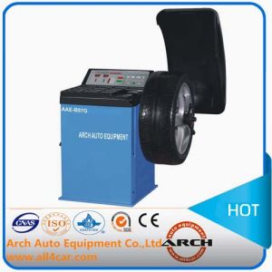 Auto Balancing Machine Car Wheel Balancer (AAE-B97G) pictures & photos