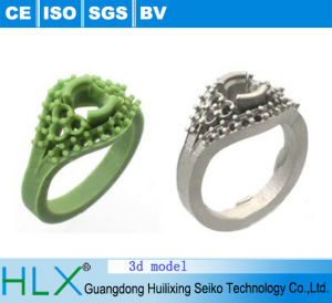 3D Printer 3D Ring Model with High Quality