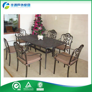 New Design Outdoor Furniture Die Cast Aluminum Table and Chairs (FY-052ZX)