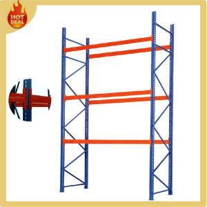 Middle Duty Warehouse Iron Storage Rack pictures & photos