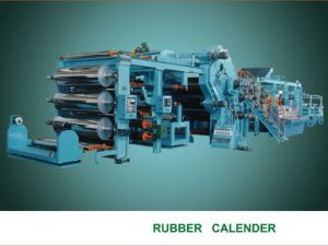 Rubber Production Line Calender Machine pictures & photos