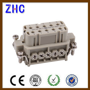 Ha Series 10 Pin Male and Female Electric Heavy Duty Screw Terminal Connector pictures & photos