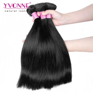 Popular Straight Cambodian Virgin Human Hair Weft pictures & photos