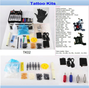 Wholesale Cheap Professional Tattoo Kit with Brand Quality Tk02 pictures & photos
