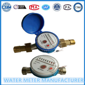 "Standard 3/4"" Single Jet Water Flow Meter pictures & photos"