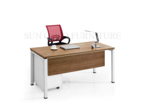 Modern Office Furniture Desk Wooden Office Table Design (SZ-ODB353) pictures & photos