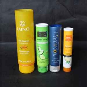 Colored Cosmetic PE Plastic Tube pictures & photos