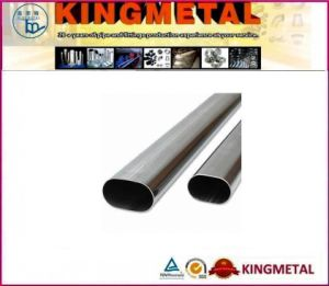 304 Stainless Oval Pipe pictures & photos