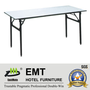 Rectangle Utility Hotel Furniture Foldable Banquet Table (EMT-FT605) pictures & photos