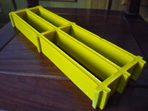 Fiberglass Molded Grating Concave Smooth Surface pictures & photos