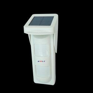 Wireless Solar PIR Outdoor Detector with Microwave and Infrared pictures & photos