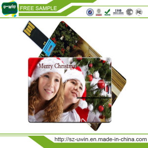 Card USB Flash Drive USB 2.0 Memory Credit Card Size pictures & photos