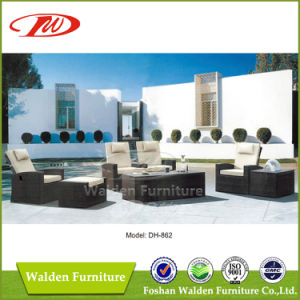 Rattan Furniture Outdoor Sofa (DH-862) pictures & photos