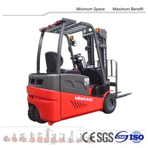 Comfortable Seat 4-Wheel Electric Forklift pictures & photos