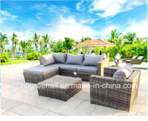 Garden Sectional Wicker Sofa Set Rattan Outdoor Furniture pictures & photos