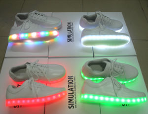 2016 Hotsale Light up LED Shoes with USB Recharge pictures & photos